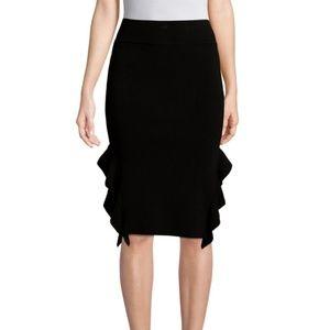 Opening Ceremony Skirts - Opening Ceremony Side Ruffled Skirt